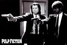 Best movie ever! Pulp Fiction