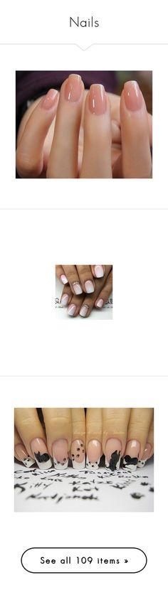 """Nails"" by lola0413 ❤ liked on Polyvore featuring beauty products, nail care, nail treatments, nails, beauty, cat, nail polish, makeup, accessories and shiny nail polish"