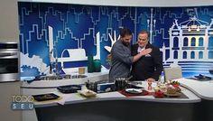 Chef Stefano Bruzzone    Stefano Hotel e Restaurante   Todo Seu   Ronnie Von   TV Gazeta   Nhoque de Semolina com Ragu de Cogumelo   Setembro de 2016.