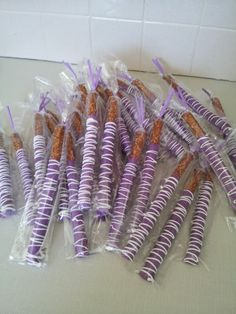 ON SALE - Limited Time - Chocolate Covered Pretzels Rods - 12 rods per order. $10.50, via Etsy.
