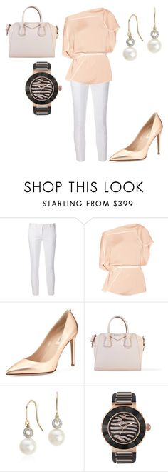 """Untitled #26473"" by edasn12 ❤ liked on Polyvore featuring Reed Krakoff, Chloé, Valentino, Givenchy, Blue Nile and Swarovski"