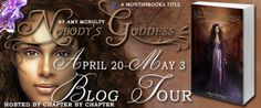 Nobody's Goddess By Amy McNulty Tour Banner.