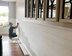 Home Upgrades, Home Renovation, Home Remodeling, Interior Minimalista, Ship Lap Walls, Diy Home Improvement, Fixer Upper, Decoration, Home Projects