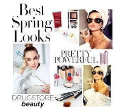 """""""Drugstore Beauty"""" by kristina779 ❤ liked on Polyvore featuring beauty and H&M"""
