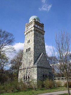 Bismarckturm Remscheid mit Sternwarten-Kuppel