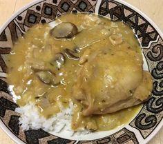 """Chicken in Mushroom Gravy! """"""""  @allthecooks #recipe #chicken #dinner #gravy #mushrooms #mushroom"""