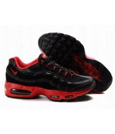 quality design 223be fd5e9 Nike Air Max 95 Mens Premium Trainers Deepred And Black - Nike Air Max