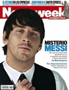 Leo Messi, en la portada de Newsweek