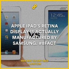 8fact How do you like those apples APPLE!!!!!!!