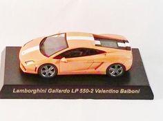 1/64 Kyosho CAR Die-cast Lamborghini Gallardo LP 550-2 Valentlno Balboni Orange