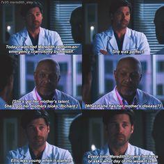 Greys Anatomy Funny, Greys Anatomy Season, Grays Anatomy, Grey Anatomy Quotes, Tv Show Quotes, Movie Quotes, Meredith And Derek, Grey Quotes, Dark And Twisty