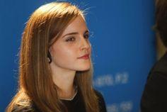 La actriz Emma Watson durante su visita al Parlamento de Uruguay