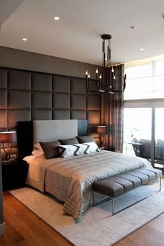 King Size Bed In Small Bedroom . 32 King Size Bed In Small Bedroom . Small Master Bedroom Design Ideas Tips and S Master Bedroom Interior, Modern Master Bedroom, Bedroom Furniture Design, Modern Bedroom Design, Contemporary Bedroom, Home Interior, Bedroom Decor, Bedroom Designs, Modern Contemporary