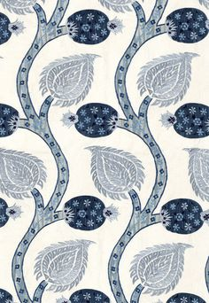 Schumacher Nurata Embroidery Lapis
