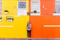 Things to do in Cape Town includie exploring the colourful Bo-Kaap neighbourhood