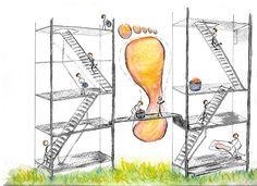 Equipo plantilla-maker. Operación relleno Ilustraciones para un blog. Era sobre pies y se me ocurrio hacer un equipo de 'plantilla-maker'  Acuarela. (watercolor)
