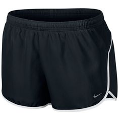 Nike Dri-FIT Track Shorts - Women's (35 BRL) ❤ liked on Polyvore featuring activewear, activewear shorts, shorts, sports, bottoms, pants, workout, nike, nike sportswear and logo sportswear
