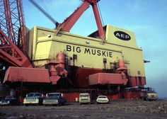 big muskie dragline pictures | Big Muskie - world's largest dragline - Ohio Dec 1970