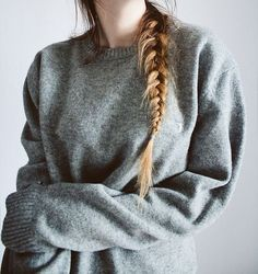 large sweaters.