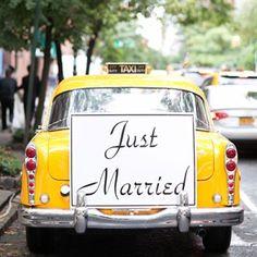 Yellow Wedding Colors, Yellow Weddings, Vintage Wedding Favors, Unique Weddings, Wedding Venues, Wedding Photos, Wedding Themes, Wedding Styles, Taxi