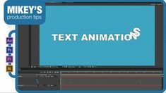 Create complex looking text animations with only 2 keyframes
