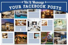 Agents, get your Facebook posts managed by the experts with READ Page Engage!  We'll post real estate related images and articles to your pages; you choose the schedule, and we handle the rest!    #realestate #realtors #socialmedia #facebookexperts