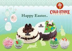 Wishing you all a wonderful Easter from all of us here at Cold Stone Creamery!