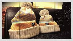 We made matching mother and daughter bobble hats at Wonky Woolies HQ today!