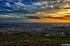 Pécs Homeland, Hungary, Scenery, Europe, Celestial, Mountains, Sunset, City, Nature