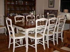 Austin French Provincial Dining Table Main Image  Home Decor Pleasing French Provincial Dining Room Table Decorating Design