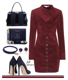 """Fall Fashion: Dresses"" by tjclay3 ❤ liked on Polyvore featuring STELLA McCARTNEY, Gianvito Rossi, Alex and Ani, Meira T, Guerlain and falldresses"