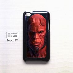 Hell Boy the Red Guy for apple case iPod 4/iPod 5