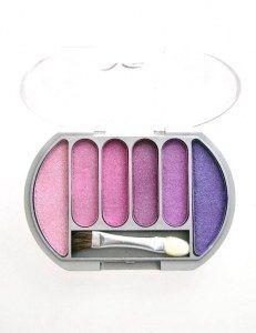 Palette 6 fards à paupières en vente ici http://www.pyramideauxbijoux.com/maquillage/palettes-de-maquillage/