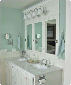 mirrors and lighting