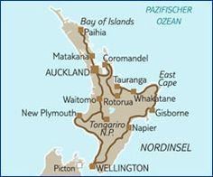 Autotour Neuseeland