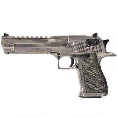 """Cerakoted Desert Eagle in .50 AE. Magnum Research Desert Eagle .50 AE pistol with a 6"""" barrel and 7-round magazine and fixed combat sights has a special matte distressed Cerakote finish"""