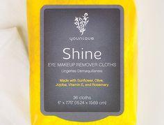 Shine Eye Makeup Remover Cloths
