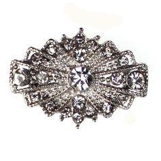 Napier Diamante Embellishment Silver Victorian Vintage Decoration Wedding Bridal Accessories