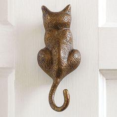 Cat Door Knocker | Gump's- thanks Trish!  $55