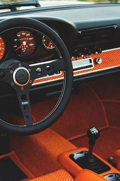 Singer Porsche interior.. Classic Car Art&Design @classic_car_art #ClassicCarArtDesign