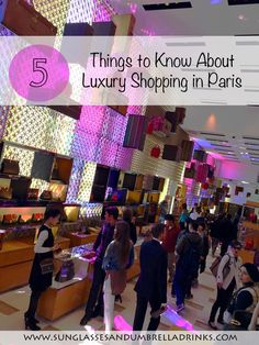 Looking to do some shopping in #Paris? Take these five tips with you #travel #louisvuitton #shopping
