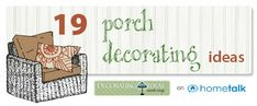 19 Awesome Porch Decorating Ideas!