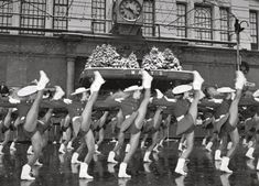 The Rangerettes are best known for their high kick, which they perform here on a cold day in 1989 outside Macy's Department Store in New York City....  http://www.pinterest.com/pin/461056080576646669/