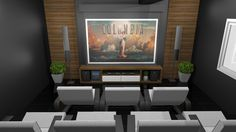 Sala de Cinema By Joziani Correa