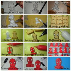 Cookies Spiderman tutorial