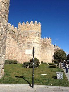 Near the Puerto del Alcazarr, Avila, Spain From TheBarefootNomad.com