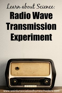 Learn how remote controllers work and how materials can affect of radio waves in this radio wave transmission experiment.