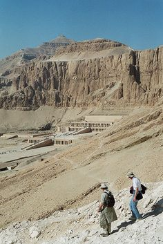 Der al Bahri: Tempel der Hatshepsut