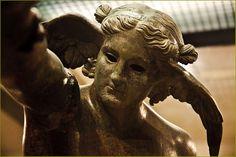 The God Hypnos. The God of dreams. Almedinilla's Museum. Cordoba province. by zanzibarcordoba on Flickr.