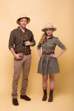 Safari Couple